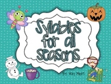 Syllables for all the seasons { FREEBIE }