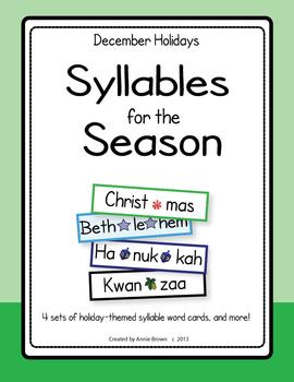 Syllables for the Season - December