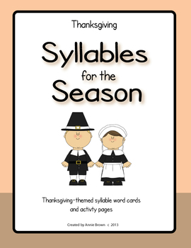 Syllables for the Season - Thanksgiving
