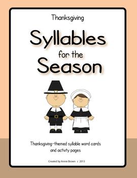 Syllables for the Season - Thanksgiving