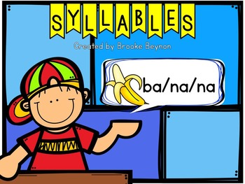 Syllables {freebie}