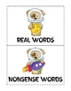 Syllables in Space Multi-Syllable Nonsense/Real Word Sort