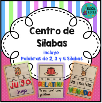 Syllables in Spanish {Formando Palabras de 2, 3, y 4 Sílabas}