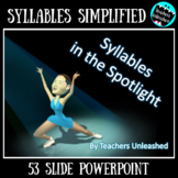 Syllables PowerPoint Lesson