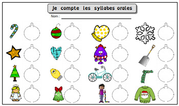 Syllaboules:  Ateliers de conscience phonologique