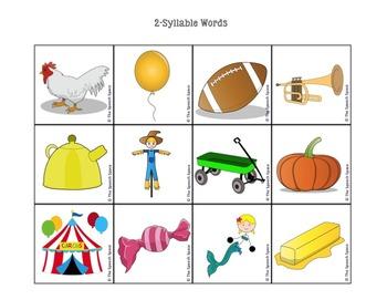 Syllabugs!  A Phonological Awareness Task to Target Syllable Identification