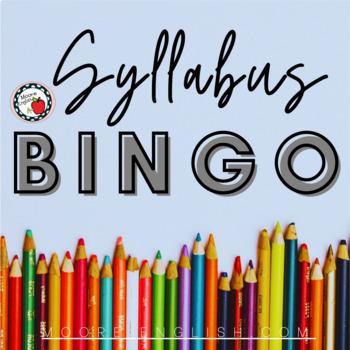 Syllabus BINGO