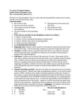 Syllabus Example