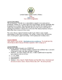 GOVERNMENT - Syllabus