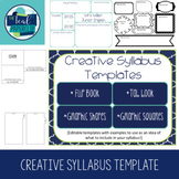 Creative Syllabus Templates