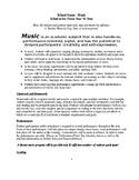 Syllabus High School Music (Template)