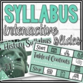 Syllabus Interactive Google Slides (and Scavenger Hunt Activity)