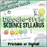 Syllabus Montage Style