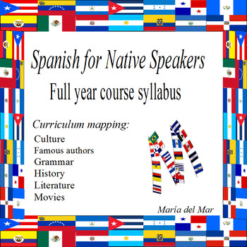 Syllabus / Spanish for native speakers 2