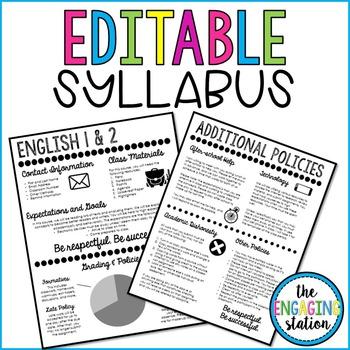 Syllabus Template 2