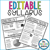 Editable Syllabus Template - Version 2