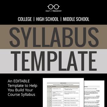 Syllabi | Teachers Pay Teachers
