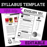 Syllabus Template