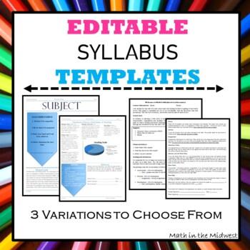 Syllabus Template {EDITABLE}