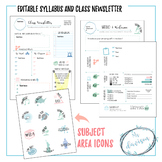 Syllabus and Class Newsletter