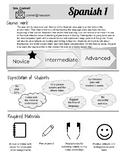 Syllabus for a comprehensible input language classroom