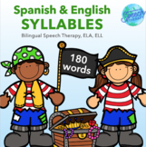 Syllalbes - English & Spanish Packet for Bilingual Speech