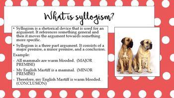 Syllogism & Conceit