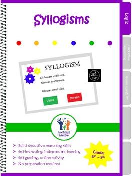 Syllogism Logic Boom Cards