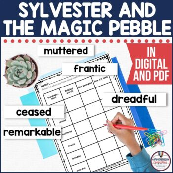 Sylvester and the Magic Pebble Reading and Writing Activities