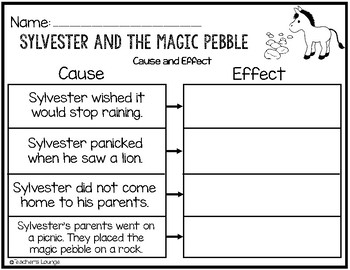 Free worksheets library download and print worksheets for Sylvester and the magic pebble coloring page