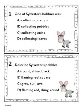 Sylvester and the Magic Pebble Literature Scoot
