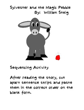 Sylvester and the Magic Pebble Sequencing Activity