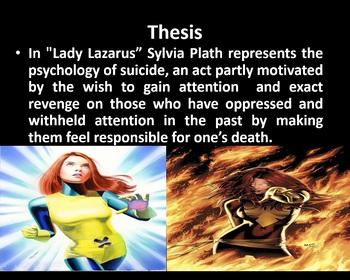 Sylvia Plath's Ariel Poetry Presentation Unit