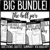 Sylvia Plath's The Bell Jar BIG BUNDLE