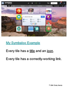 Symbaloo: An Independent Reading Project