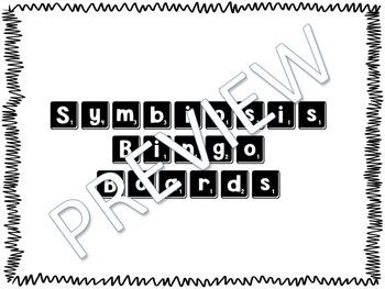 Symbiosis Bingo Boards (+ Predation) Activity