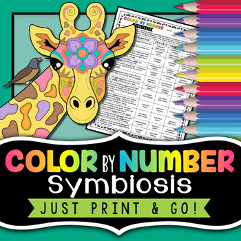 Symbiosis - Science Color By Number