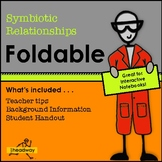 Symbiosis Foldable or Symbiotic Relationships Foldable