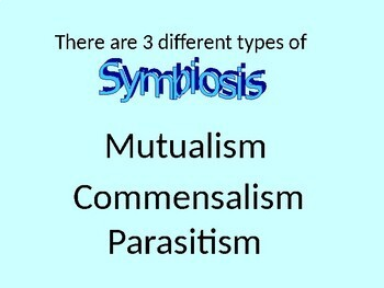 Symbiosis PowerPoint