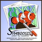 Symbiosis - Reading, Analysis, and Color-by-Number