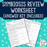 Symbiosis Review Worksheet