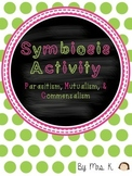 Symbiosis Sort (Parasitism, Mutualism, Commensalism)