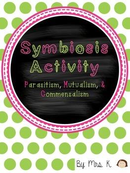 Symbiosis Sort (Parasitism, Mutualism, Commensalism)