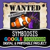 Symbiosis Project - Wanted Poster (Digital and Printable Options)
