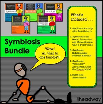 Symbiosis or Symbiotic Relationship Bundle