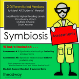 Symbiosis or Symbiotic Relationships Assessment