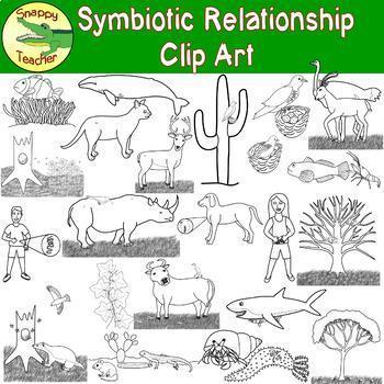 Symbiotic Relationship Clip Art