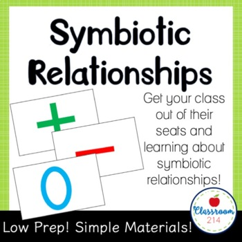 Symbiotic Relationships Power Point Activity