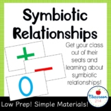 Symbiotic Relationships Kinesthetic Learning Activity