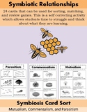 Symbiotic Relationships Cards